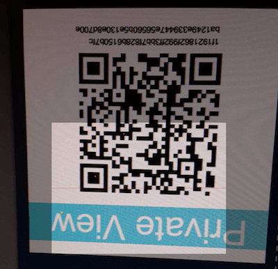Import Paper Wallet - Private View Key